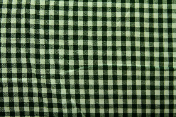 Rainbow Fabrics CS: Thin Black and Green Check Multi Coloured Craft Fabric