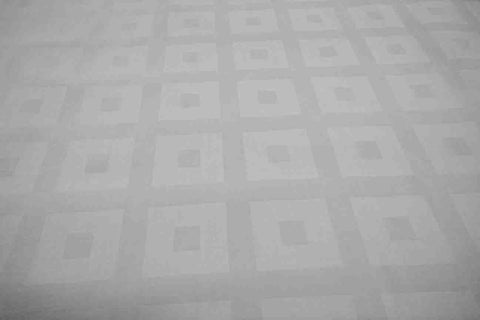 DS: White Damask Sheeting - Design # 3 [OUT OF STOCK]