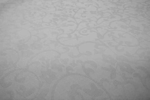 DS: White Damask Sheeting - Design # 7 SOLD OUT