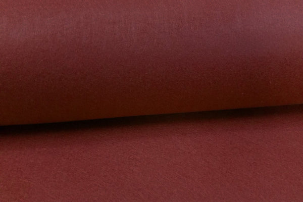 Rainbow Fabrics FF: Dark Red Felt