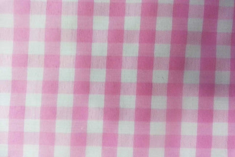 G1: Baby Pink Traditional Gingham_SOLD OUT