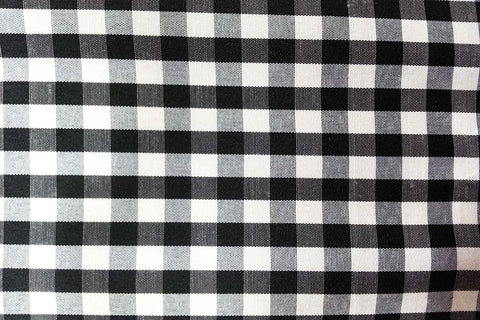 G1: Black and White Traditional Gingham---OUT OF STOCK