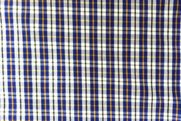 Rainbow Fabrics G1: Dark Blue with Yellow and Black Stripes Tartan Plaid Gingham