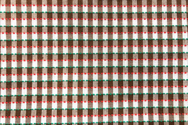 Rainbow Fabrics G1: Multi Color Gingham - 5mm check