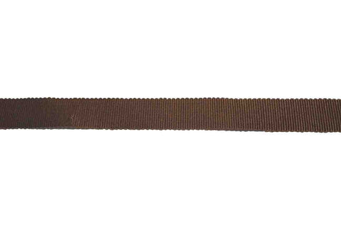 GG: 15mm Brown Grosgrain Ribbon