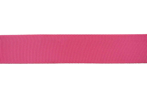 GG: 22mm Hot Pink Grosgrain Ribbon