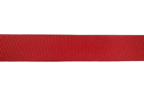 GG: 22mm Red Grosgrain Ribbon