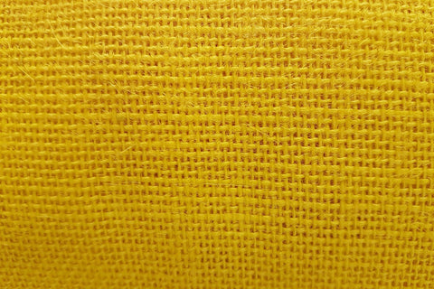 H1: Mustard Yellow Hessian/Burlap_SOLD OUT
