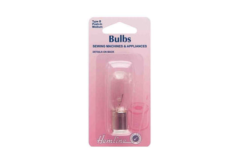 HY: Bayonet Sewing Machine Bulb - Medium