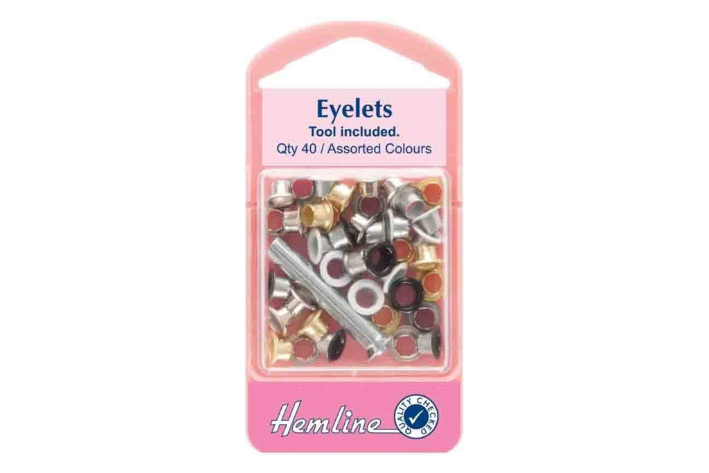 Rainbow Fabrics HY: Eyelets With Tool - Assorted