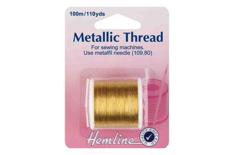 HY: Metallic Thread - Gold