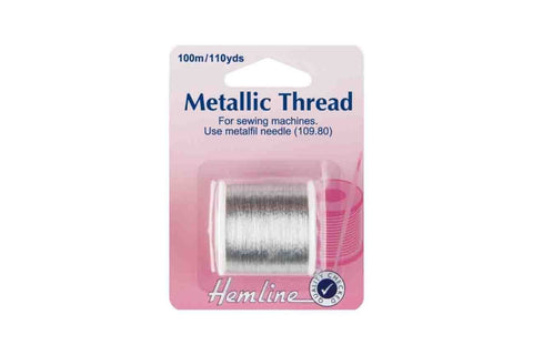 HY: Metallic Thread - Silver