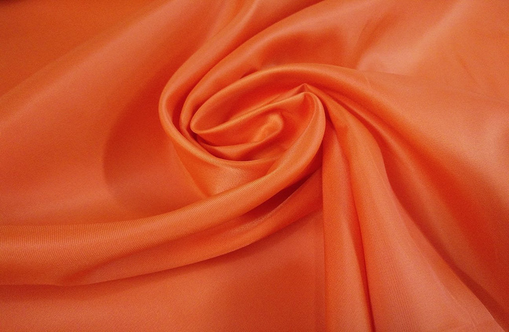 Rainbow Fabrics L1: Electric Orange Lining