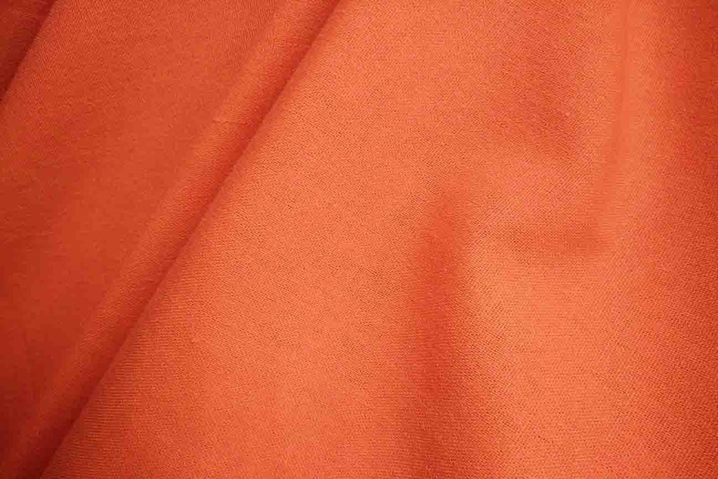 Rainbow Fabrics LC: Orange Linen Cotton