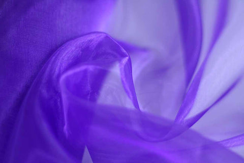 MO: Gentle Lavender Plain Mirror Organza_OUT OF STOCK