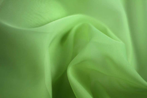 MAO: Kiwi Crush Lime Plain Matte Organza