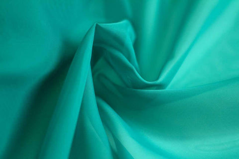 MAO: Marine Splash Teal Plain Matte Organza