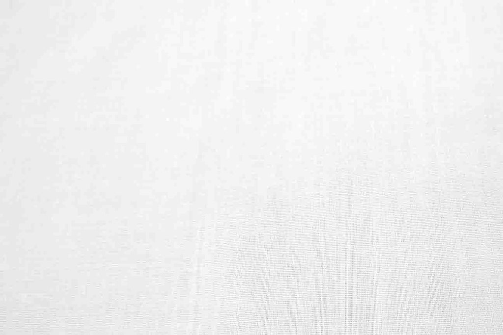 Rainbow Fabrics PCP1: White Poly Cotton Poplin Green Fabric