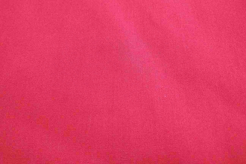 Rainbow Fabrics PCP1: Winsor Red Poly Poplin Cotton Red Fabric
