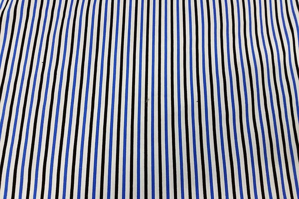 Rainbow Fabrics PCP2:  Blue and Black Stripes Printed Cotton