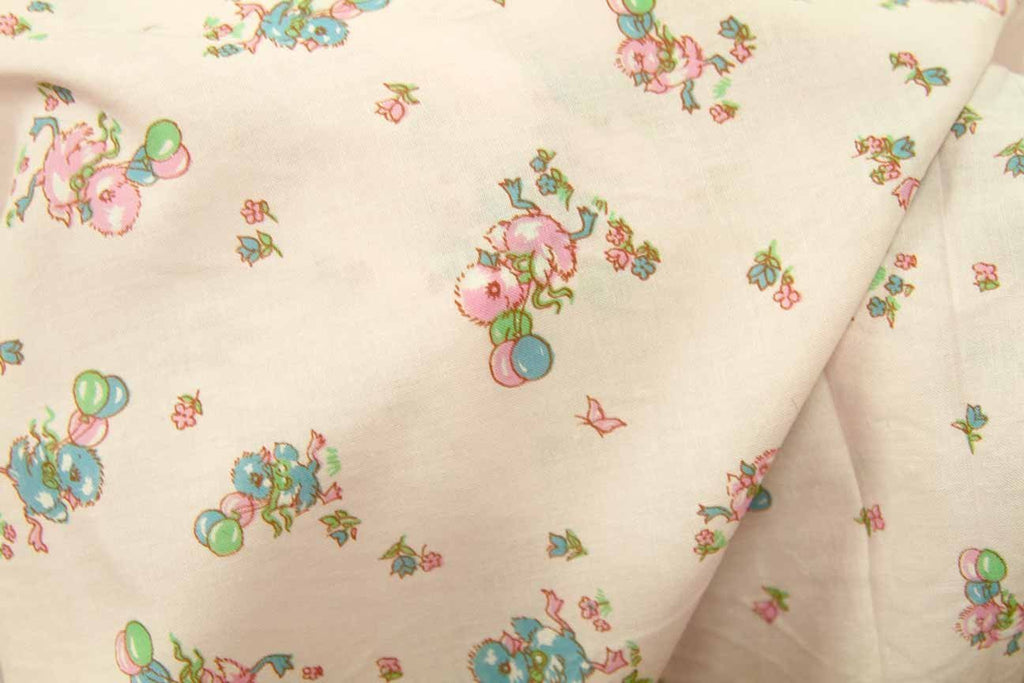Rainbow Fabrics PPC: Party Ducklings Printed Cotton Poplin Multi Coloured