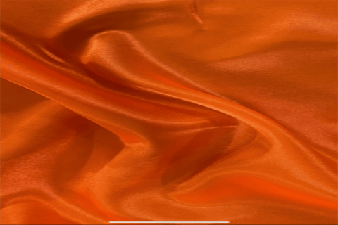 PS: Bright Orange Polyester Satin - 55