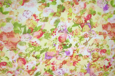 PTC: Blossom Watercolour Printed Chiffon