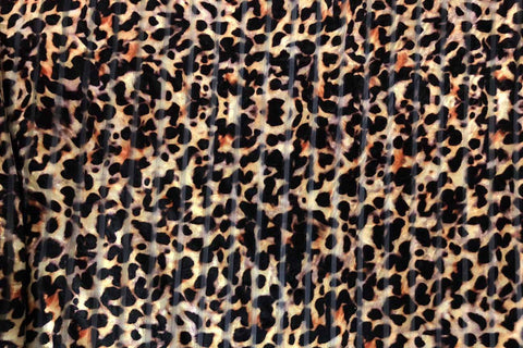 PV: Leopard Deluxe Stretch Printed Velvet SOLD OUT