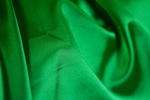 SA: Buckingham Green Stretch Satin - 09     OUT OF STOCK