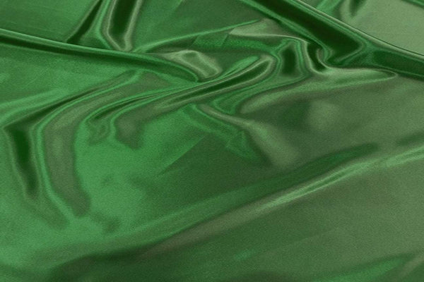 Rainbow Fabrics SA: Dark Olive Green Stretch Satin Pink Fabric