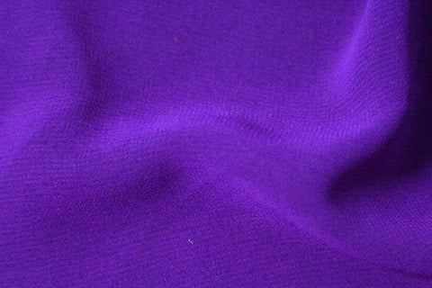 SC: Boysenberry Purple Silky Chiffon