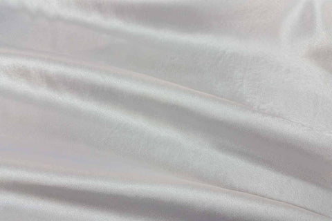 ST: White Texture Satin