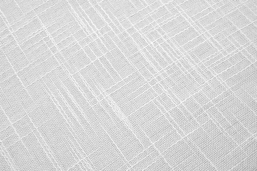 Crosshatch | White | Voile Curtain Fabric | Rainbow ...