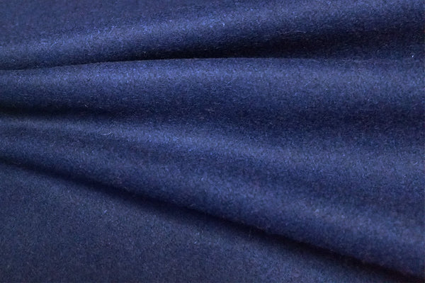 Rainbow Fabrics WF: Bright Navy Blue Plain Wool