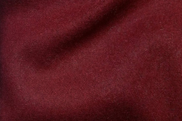 Rainbow Fabrics WF: Dark Red Plain Wool