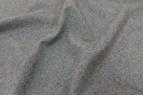 Rainbow Fabrics WF: Grey Plain Wool