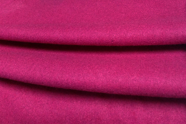 Rainbow Fabrics WF: Hot Pink Plain Wool