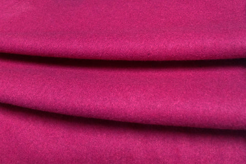 WF: Hot Pink Plain Wool_SOLD OUT