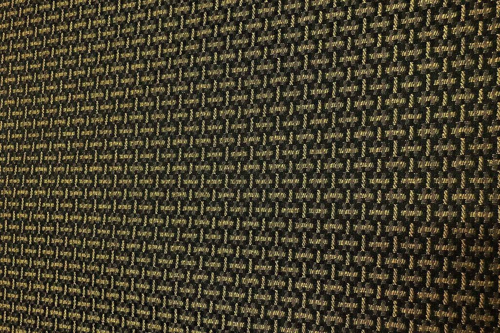 Rainbow Fabrics | Golden Green Pattern | Waterproof Upholstery