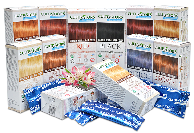 Cultivator Natural Product Pvt. Ltd.|Organic hair colors