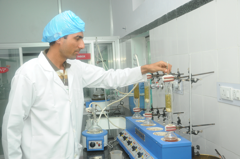 Cultivator Natural Product Pvt. Ltd.|Quality Control