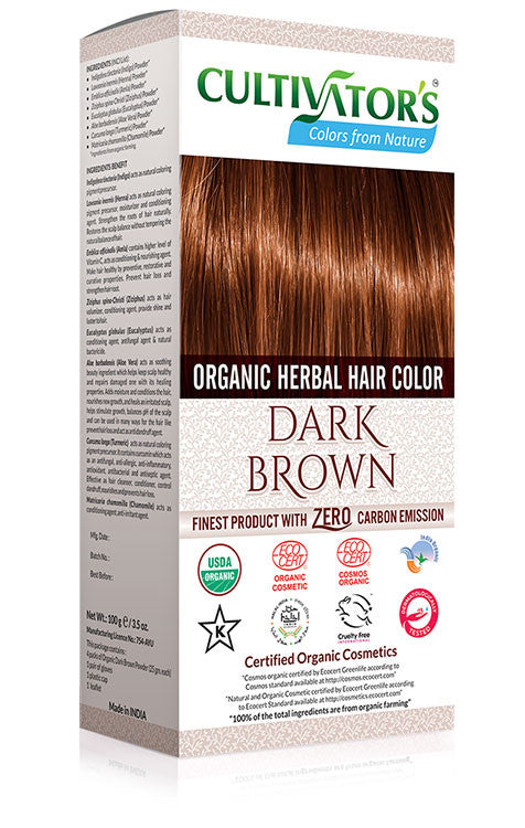 Cultivator Natural Product Pvt. Ltd.|Dark Brown