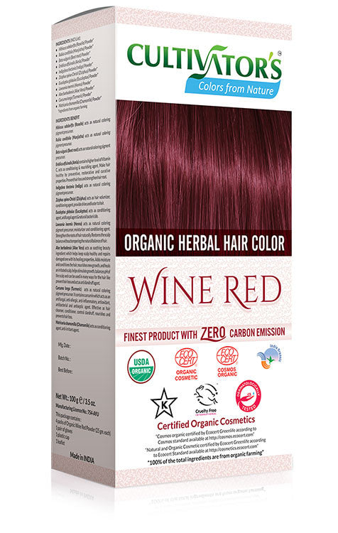 Cultivator Natural Product Pvt. Ltd.| Wine Red