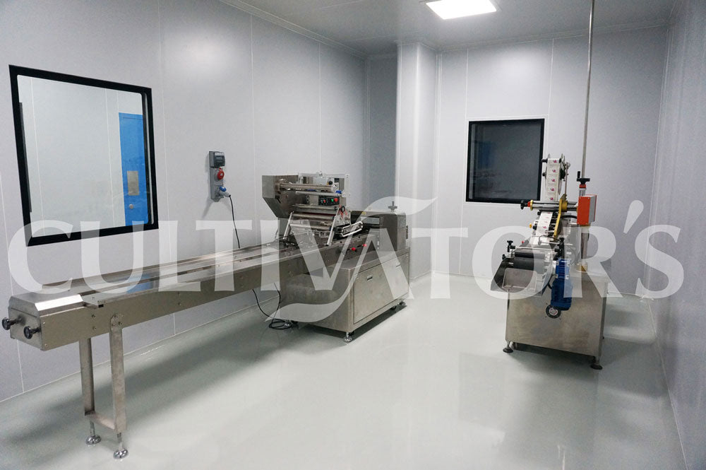 Labeling and secondery packing machines