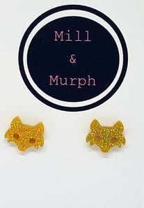 Fox Face Studs - CHOOSE COLOUR