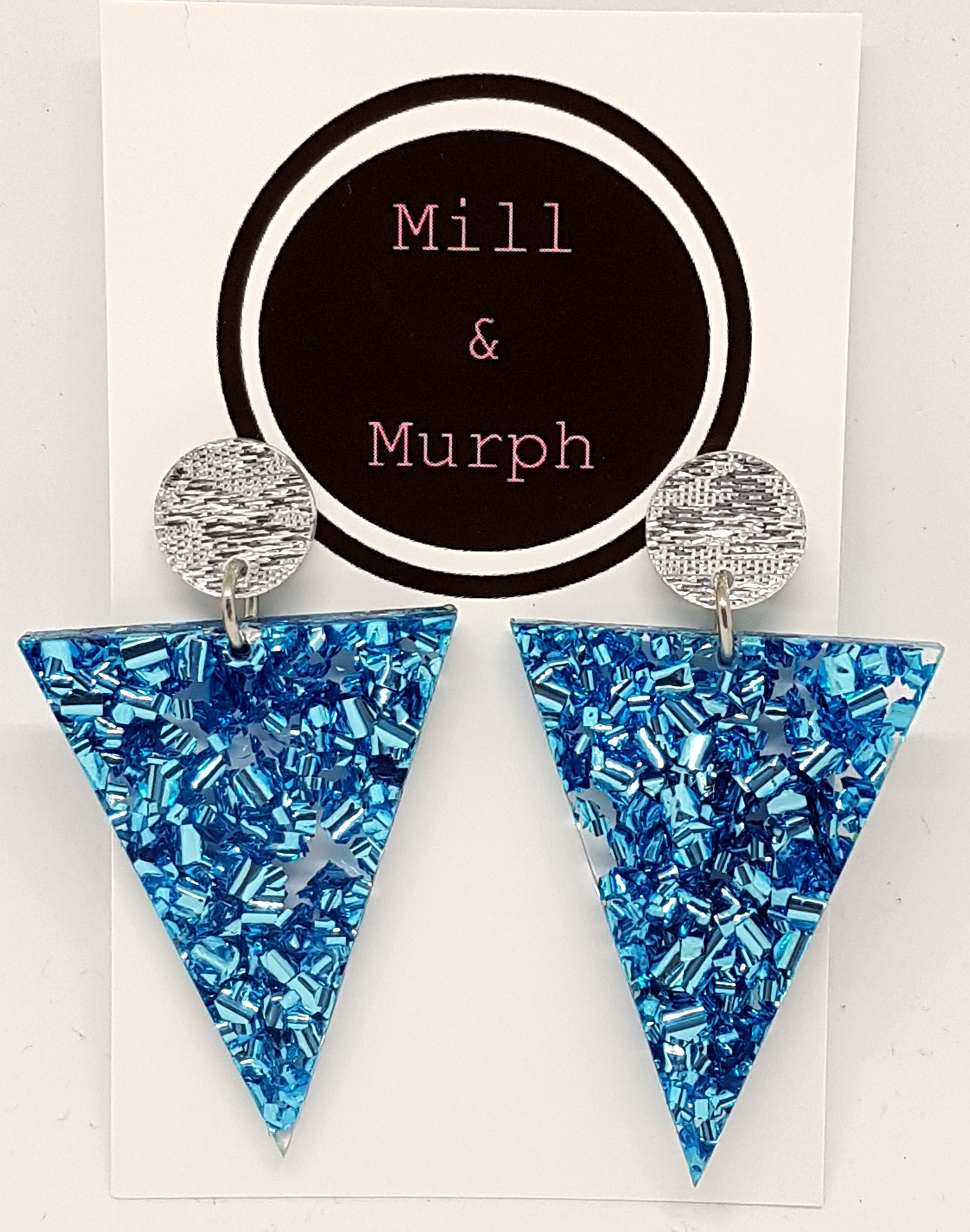 Triangle Bunting Premium Dangles - SELECT COLOUR