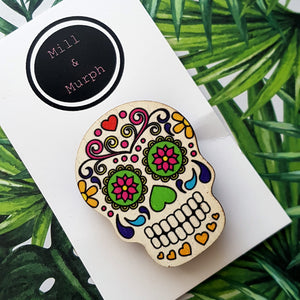 Day of the Dead Badge - SELECT COLOUR
