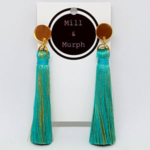 Large Cotton Tassel Dangles - SELECT COLOUR