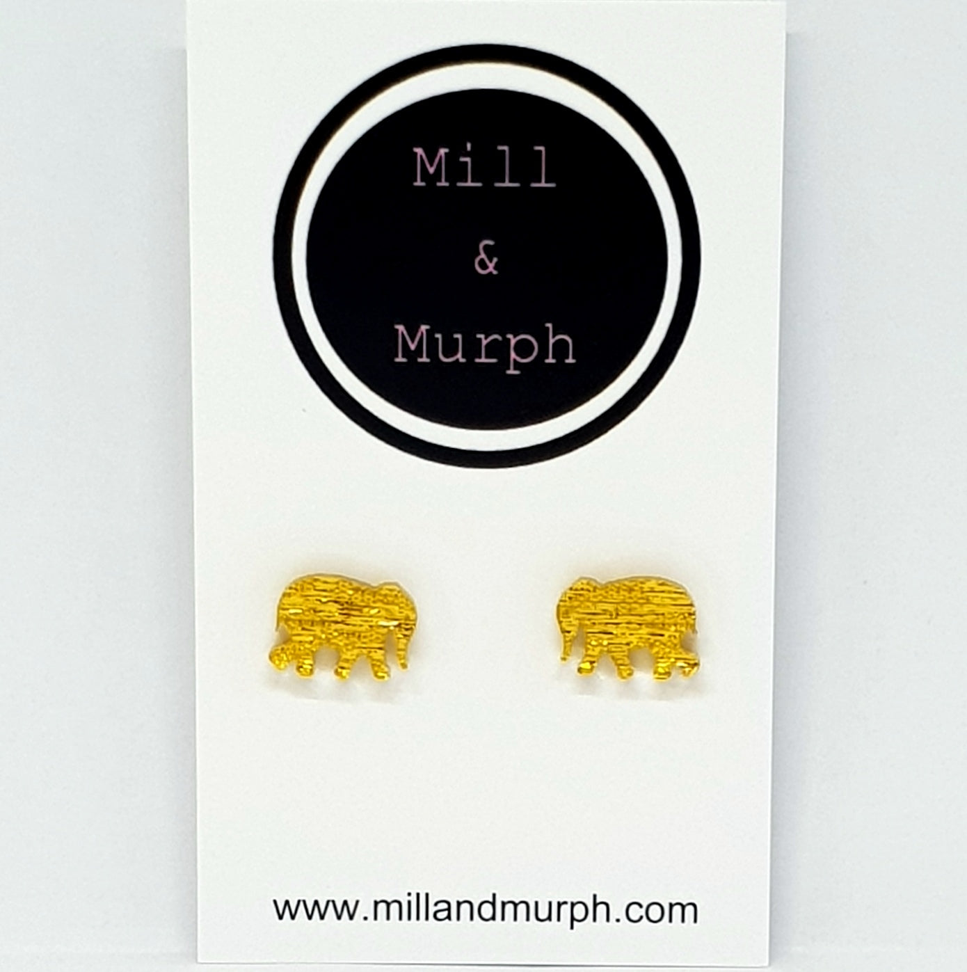 Elephant Studs - SELECT COLOUR