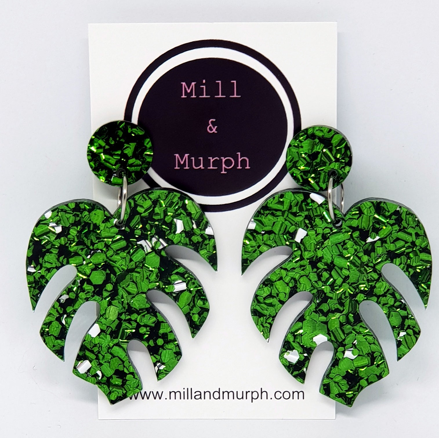 Mega Monstera Leaf Dangles